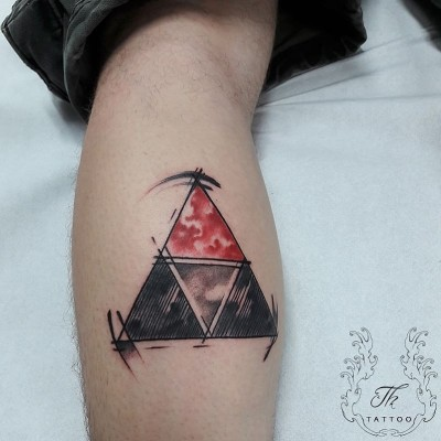 Tatuaj watercolor, watercolor tattoo, zelda tattoo